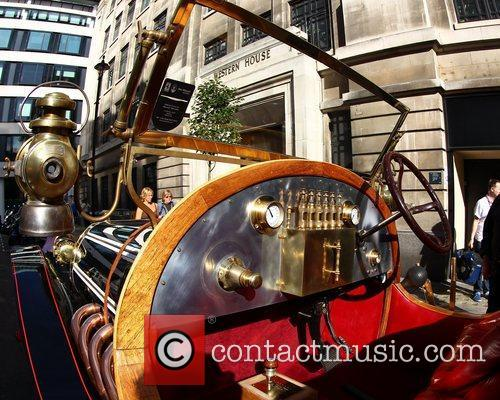 Atmosphere Chris Evans drives the original Chitty Chitty...