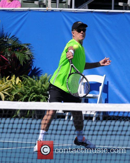 Alan Thicke  participates in the Chris Evert...