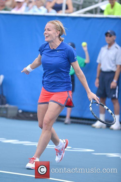 Elisabeth Shue, Chris Evert, Raymond James Pro- Celebrity, Tennis Classic, Delray Tennis Center and Delray Beach 4