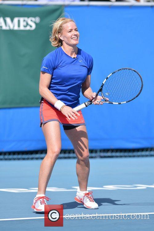 Elisabeth Shue, Chris Evert, Raymond James Pro- Celebrity, Tennis Classic, Delray Tennis Center and Delray Beach 7