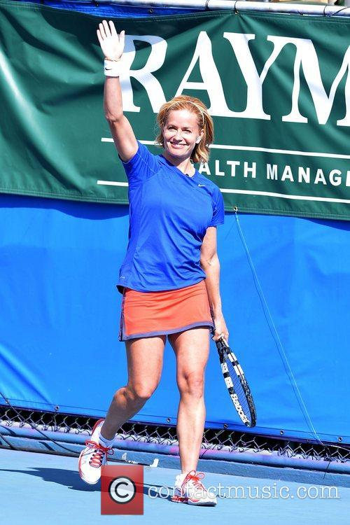 Elisabeth Shue, Chris Evert, Raymond James Pro- Celebrity, Tennis Classic, Delray Tennis Center and Delray Beach 3