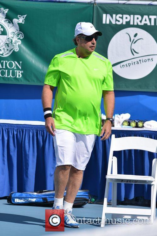 Jon Lovitz, Chris Evert, Raymond James Pro- Celebrity, Tennis Classic, Delray Tennis Center and Delray Beach 4