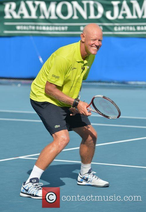 Murphy Jensen, Chris Evert, Raymond James Pro- Celebrity, Tennis Classic, Delray Tennis Center and Delray Beach