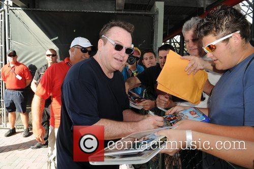 Tom Arnold, Chris Evert, Raymond James Pro- Celebrity, Tennis Classic, Delray Tennis Center and Delray Beach 8