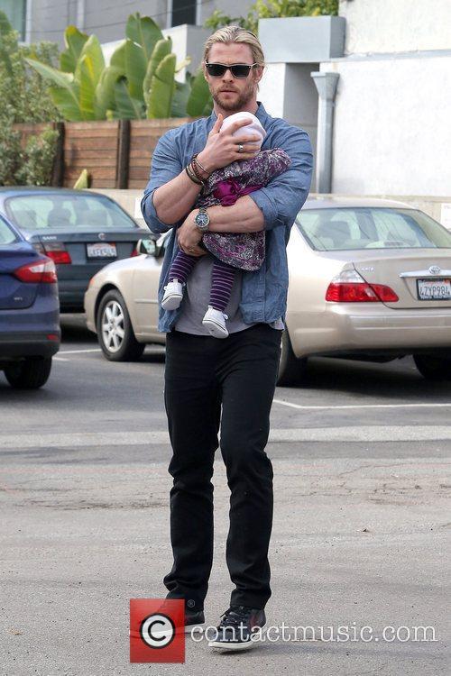 Chris Hemsworth and India Rose Hemsworth 5