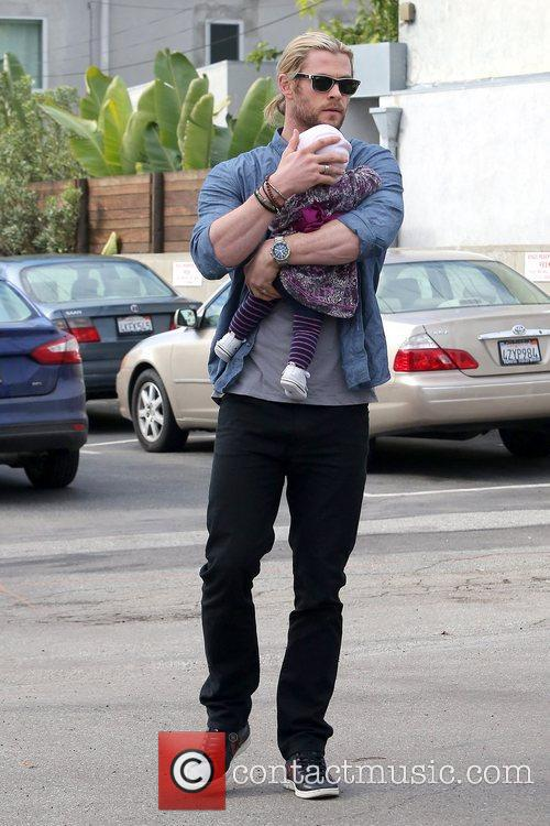 Chris Hemsworth and India Rose Hemsworth 11