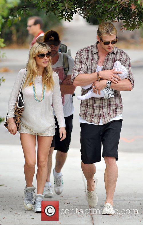 Elsa Pataky, Chris Hemsworth and The Tiny 1