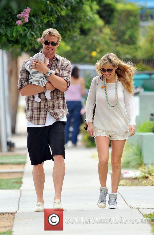 Elsa Pataky, Chris Hemsworth and The Tiny 4