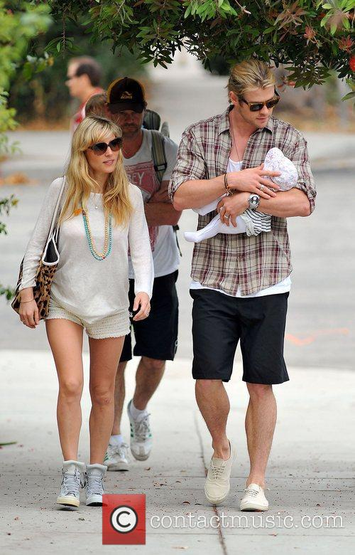 Elsa Pataky, Chris Hemsworth and The Tiny 7