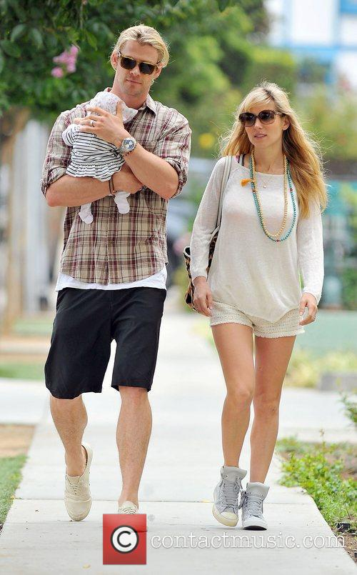 Elsa Pataky, Chris Hemsworth and The Tiny 24