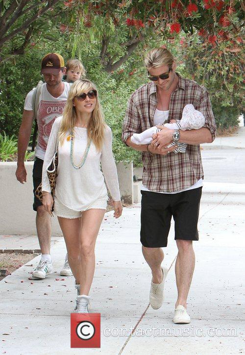 Elsa Pataky, Chris Hemsworth and The Tiny 12