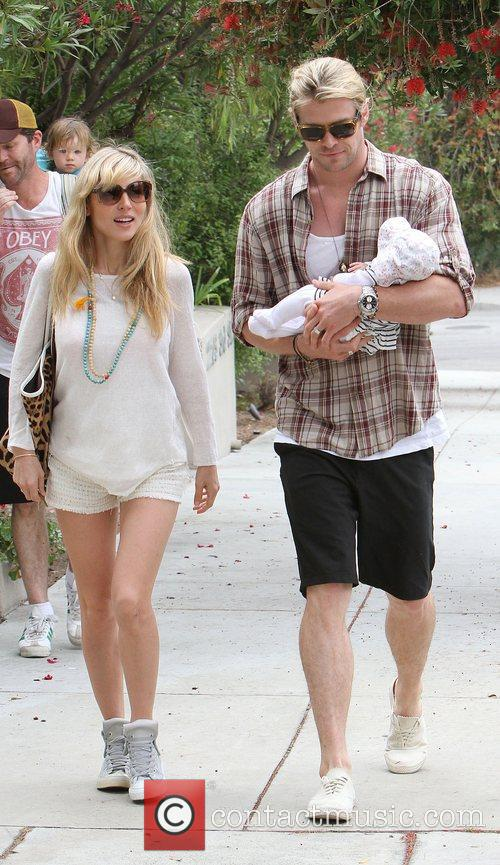 Elsa Pataky, Chris Hemsworth and The Tiny 14