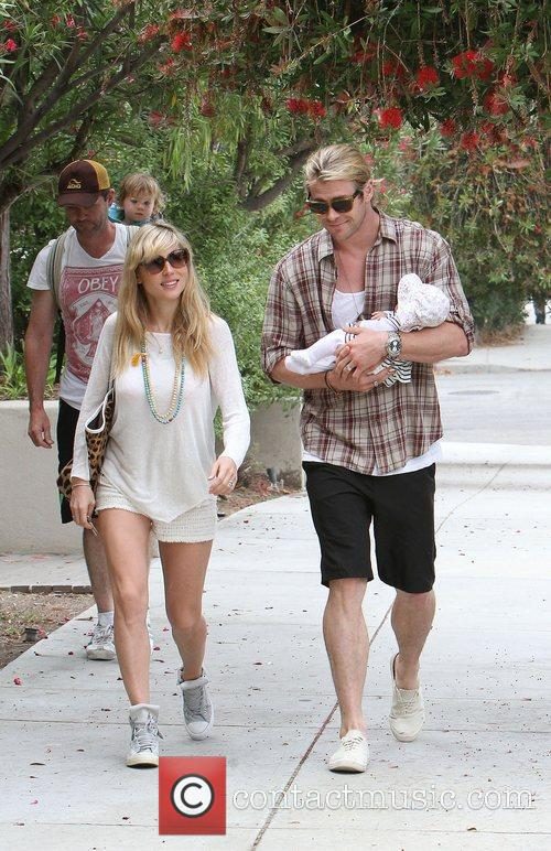Elsa Pataky, Chris Hemsworth and The Tiny 15