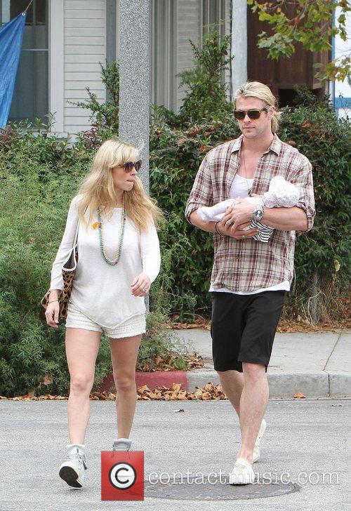 Elsa Pataky, Chris Hemsworth, The Tiny
