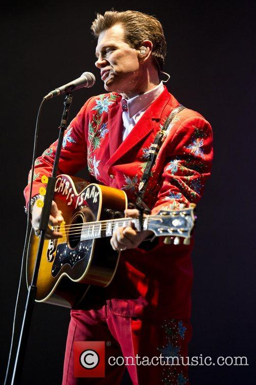 Chris Isaak, Apollo Hammersmith, London and England 5
