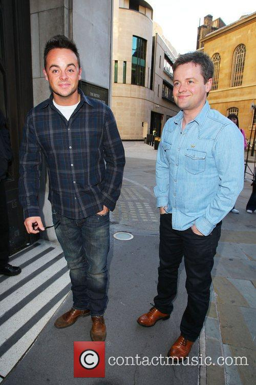 Ant and Dec aka Anthony McPartlin and Declan...