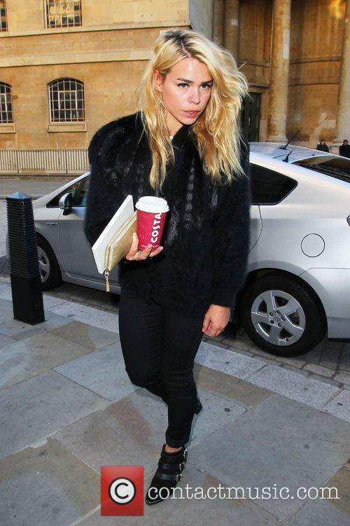 Billie Piper outside the BBC Broadcasting House &...