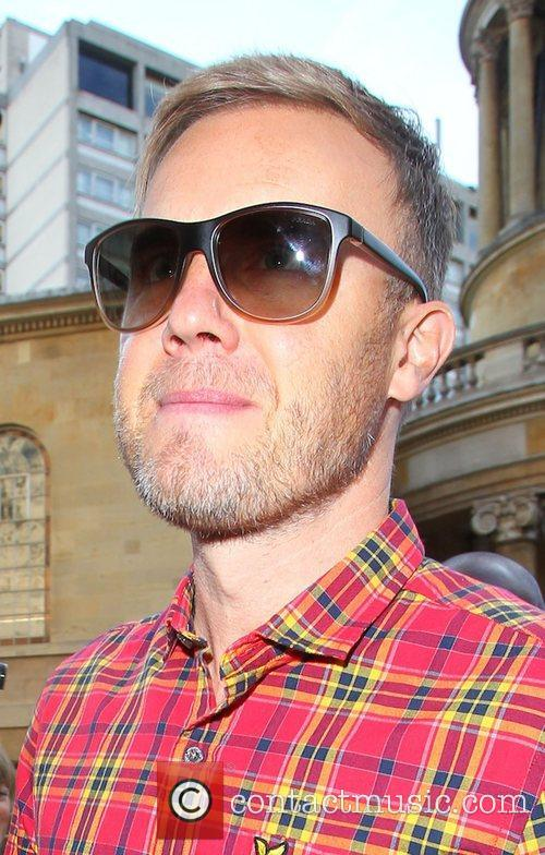 Gary Barlow outside the BBC Broadcasting House &...