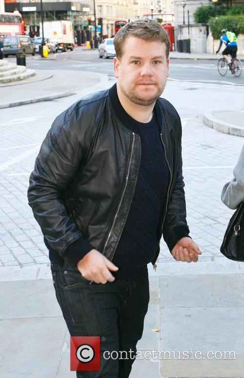 James Corden and Bbc Broadcasting House 2