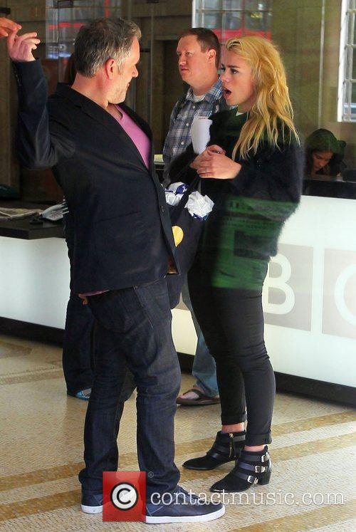 Chris Moyles and Billie Piper 3