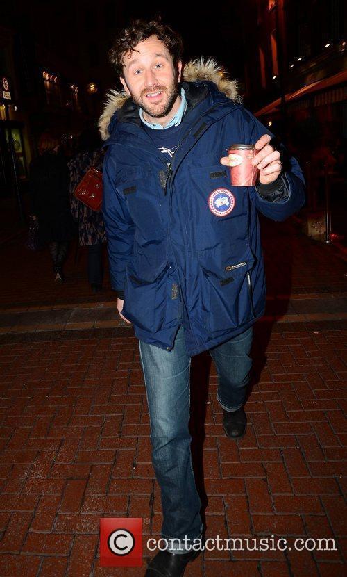 Bridesmaids actor Chris O'Dowd  seen walking past...
