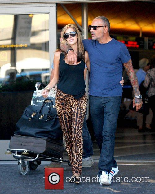 Lord Baltimore designer Christian Audigier and Nathalie Sorensen...
