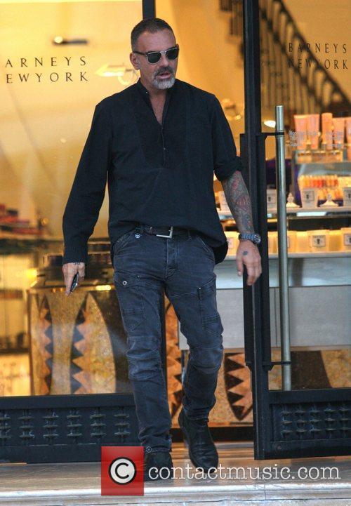 Christian Audigier leaves Barney's New York Los Angeles,...