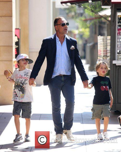Lord Baltimore designer Christian Audigier takes his children...