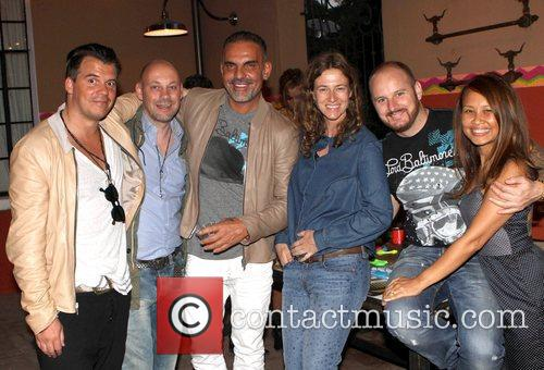 Christian Audigier and his colleagues Christian Audigier, the...