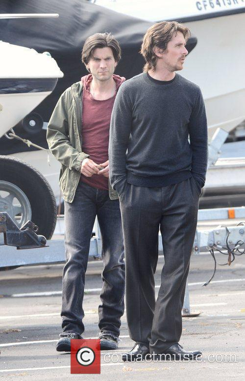 Seen on the set of 'Knight of Cups'