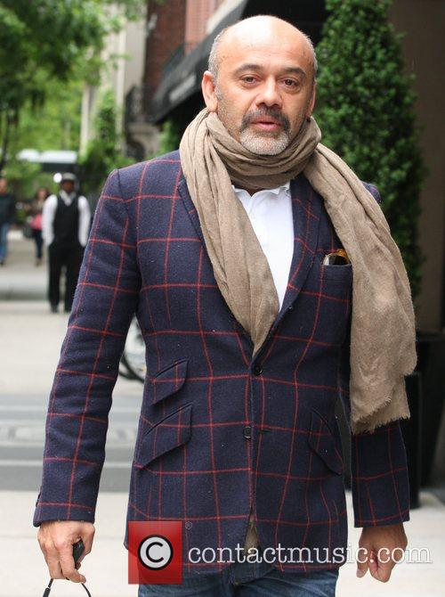 Christian Louboutin out and about New York City,...