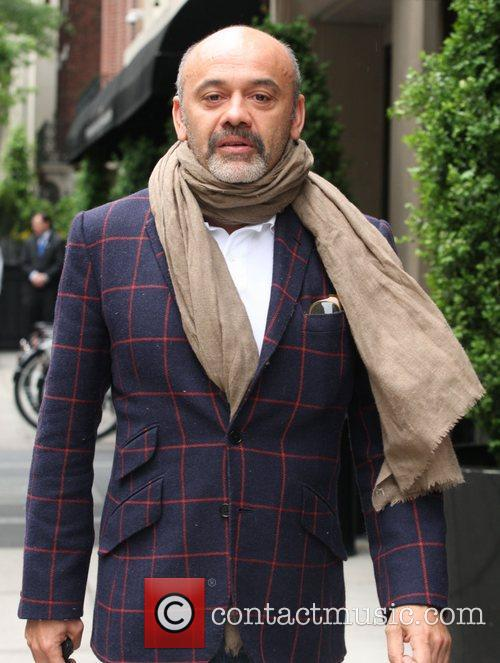 Christian Louboutin out and about