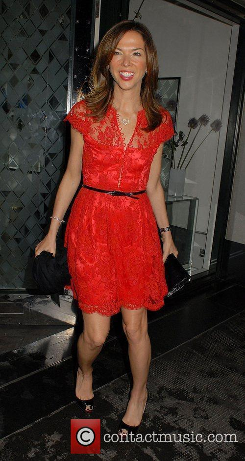 Heather Kerzner ,  at the Christian Louboutin...