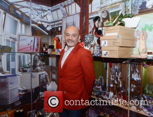 Christian Louboutin attends a photocall for his forthcoming...