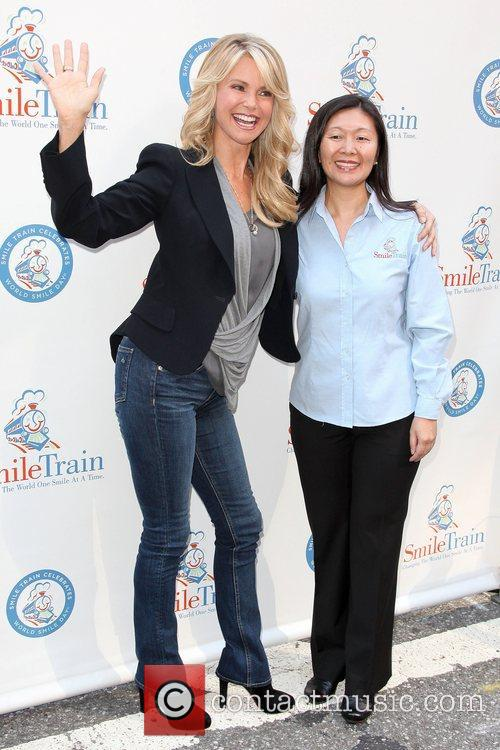Christie Brinkley and Priscilla Ma 1