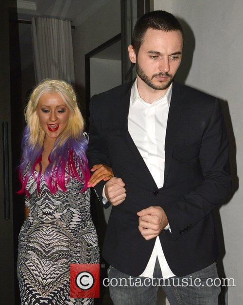 Christina Aguilera and Matthew Rutler 2