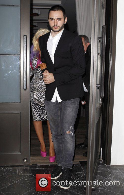 Christina Aguilera and Matthew Rutler 6