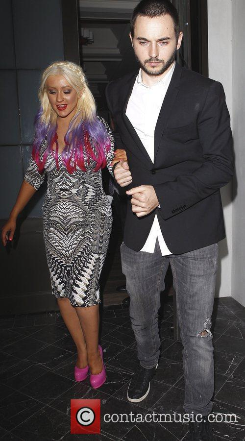 Christina Aguilera and Matthew Rutler 10