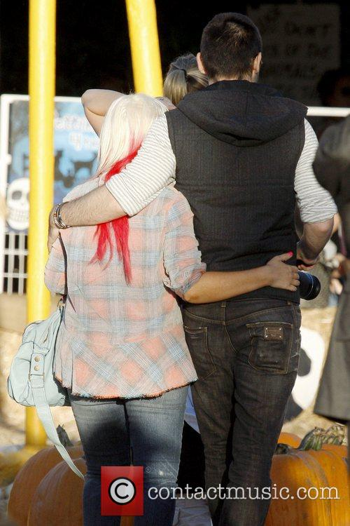 Christina Aguilera and Matthew Rutler 2