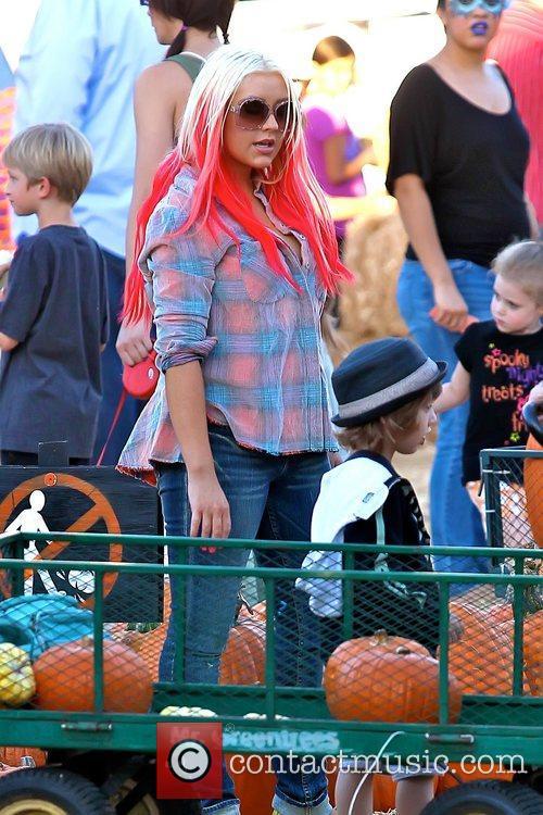 Christina Aguilera and Max Bratman 11