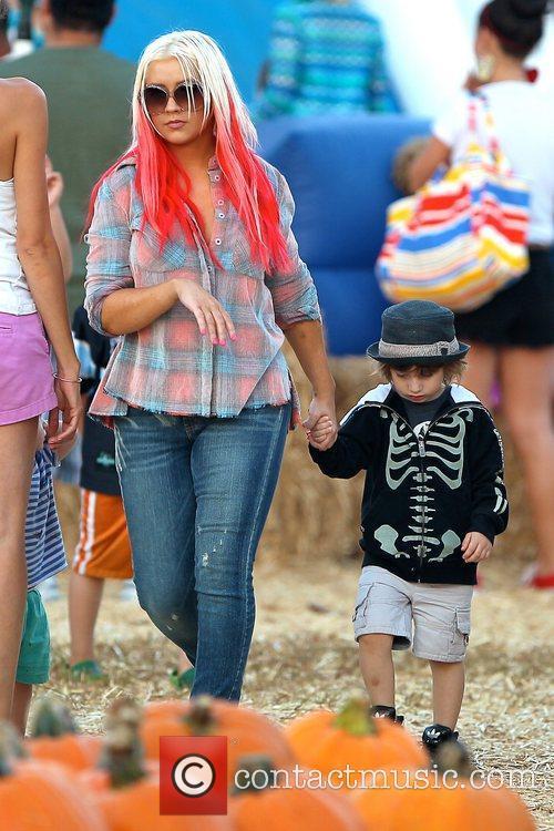 Christina Aguilera and Max Bratman 8