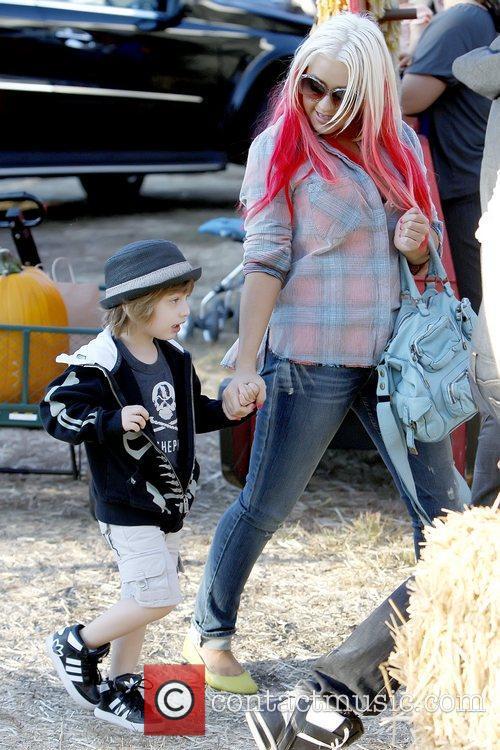 Max Bratman and Christina Aguilera Christina Aguilera enjoys...