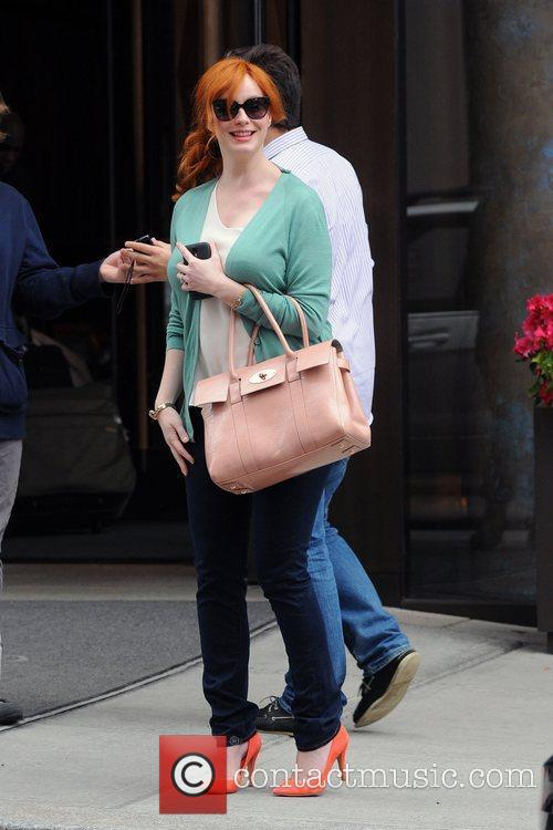 Christina Hendricks, Manhattan Hotel