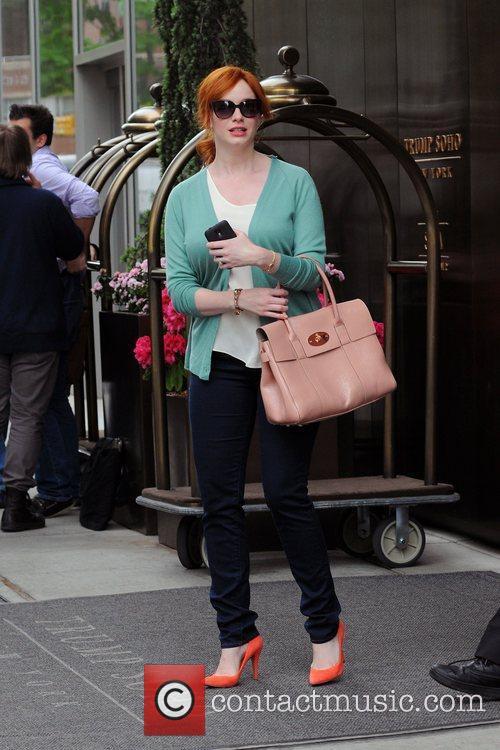 Christina Hendricks and Manhattan Hotel 5
