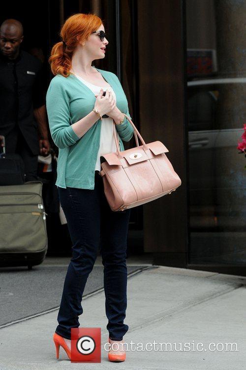 Christina Hendricks and Manhattan Hotel 6