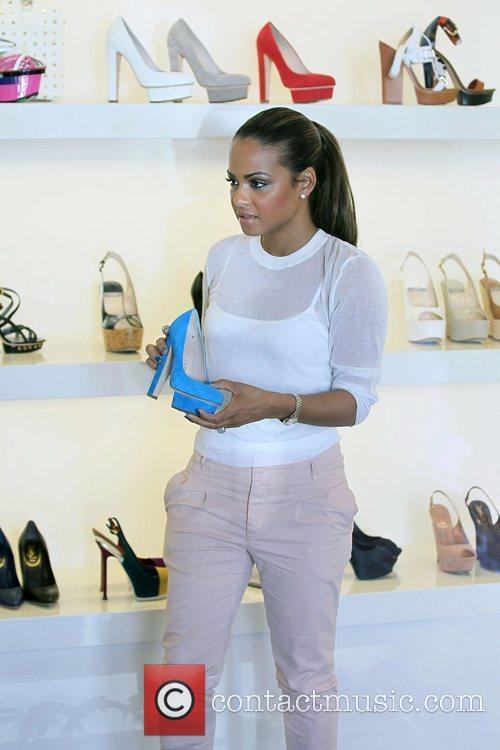 Christina Milian and Fred Segal 2