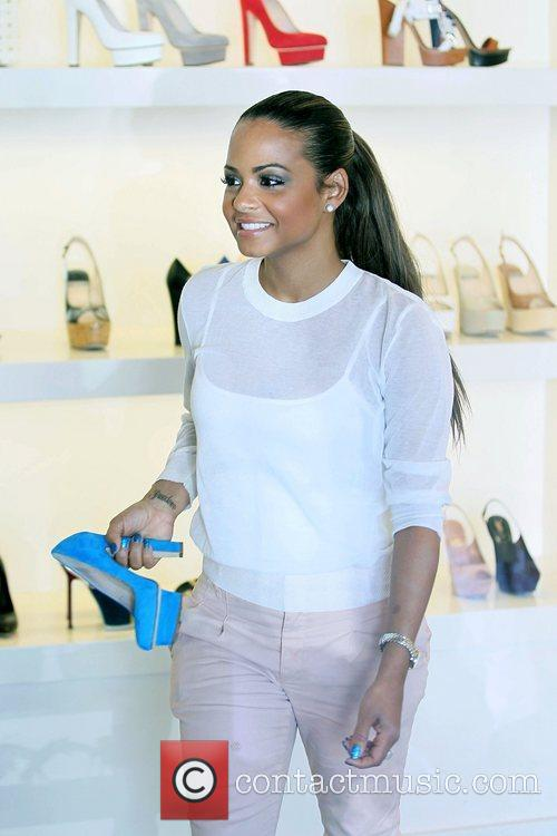 Christina Milian and Fred Segal 7