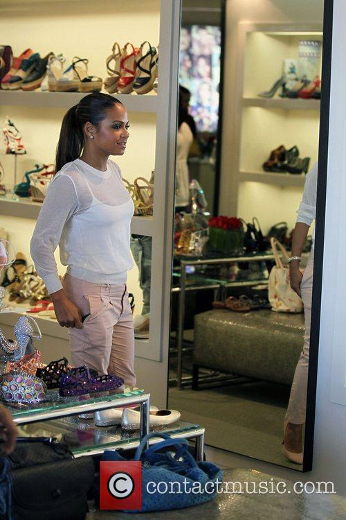 Christina Milian and Fred Segal 10