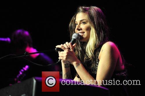 Christina Perri performs live in concert at the...