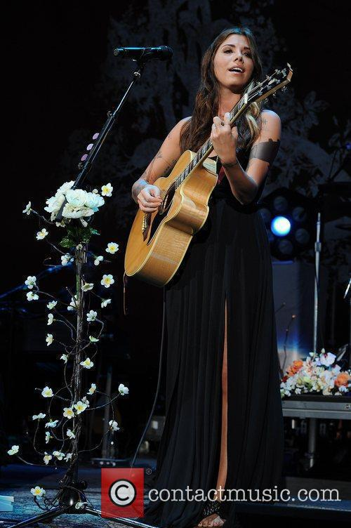 Christina Perri performing on the 'Tour is a...